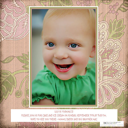 Lily's 2nd bday invitation back WM