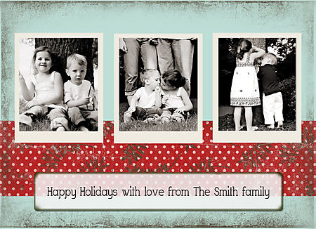Holiday card #4 front