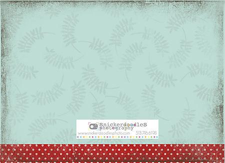 Holiday card #4 back