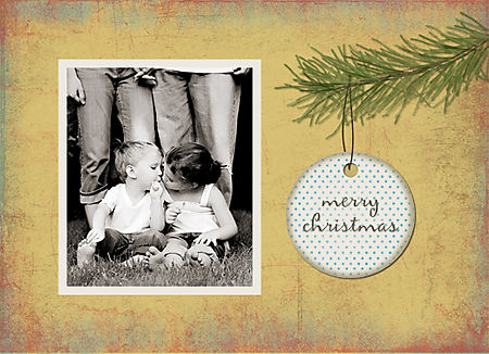 Holiday card #5 front